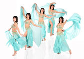 Bellydance harem collage — Stock Photo