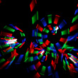 Abstract multicolored glowing — Stock Photo
