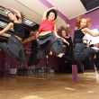 Jump dancing collective — Stock Photo #7936747