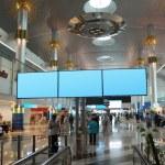 DUBAI - APRIL 19: Dubai International Airport on April 19, 2010 — Stock Photo