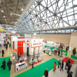 The largest exhibition of medical technologies - Стоковая фотография