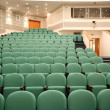 Stock Photo: Interior of hall for conferences
