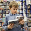 Young boy in special store — Stock Photo #7939062