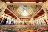 Grand mosque in Oman general view interior — Stock Photo