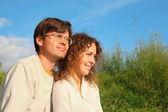 Homem e mulher — Fotografia Stock