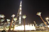 DUBAI - APRIL 18: Burj Khalifa (Burj Dubai) skyscraper is bigest — Stock Photo