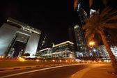 DUBAI - APRIL 18: Dubai International Financial Centre, other bu — Stock Photo