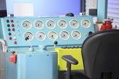 Electric locomotive simulator — Stock Photo