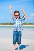 Happy boy portrait — Stock Photo