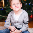 Christmas boy portrait - Stock Photo