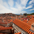 Dubrovnik old town red roofs — Stock Photo #7499156