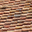 Close up of red tiles — Stock Photo #7499620