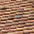 Close up of red tiles — Stock Photo