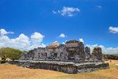 Ruins in Tulum Mexico — Stock Photo
