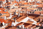 Dubrovnik old town red roofs — ストック写真