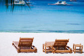 Perfect tropical beach vacation — Stock Photo