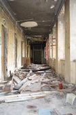 Ruins. Old Destroyed Interior — Stock Photo