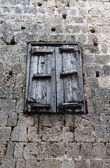 Old Window — 图库照片