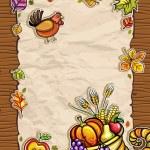 Thanksgiving theme 9 — Stock Vector