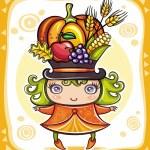 Thanksgiving theme 14 — Stock Vector
