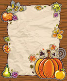 Thanksgiving theme 10 — Stock Vector