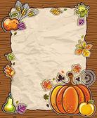 Thanksgiving theme 10 — Stock Vector