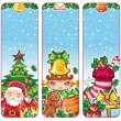Festive Christmas banners 2 — Stock Vector
