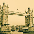 Vintage London Tower Postcard — Stock Photo #7579732
