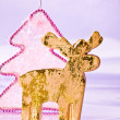 Golden deer — Stockfoto #7514219