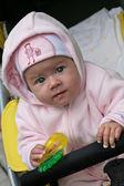 Smiling baby — Stock Photo