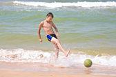 Sea footbal — Stock Photo