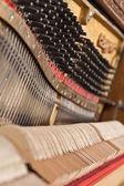 Vecchio pianoforte — Foto Stock