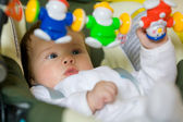 Baby are play the game — Stock Photo