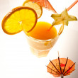 Orange drink — Stock Photo