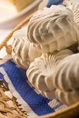 Snow white marsh-mallow — Stock Photo