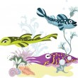 The underwater world - Stock Vector