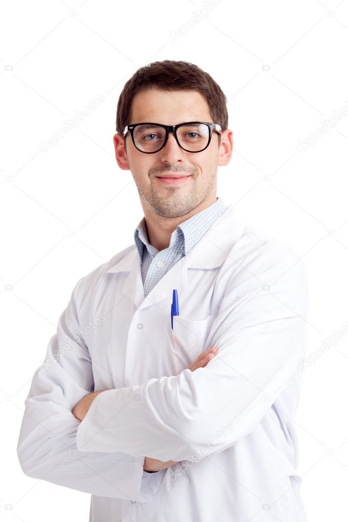 Male scientist — Stock Photo #6813920