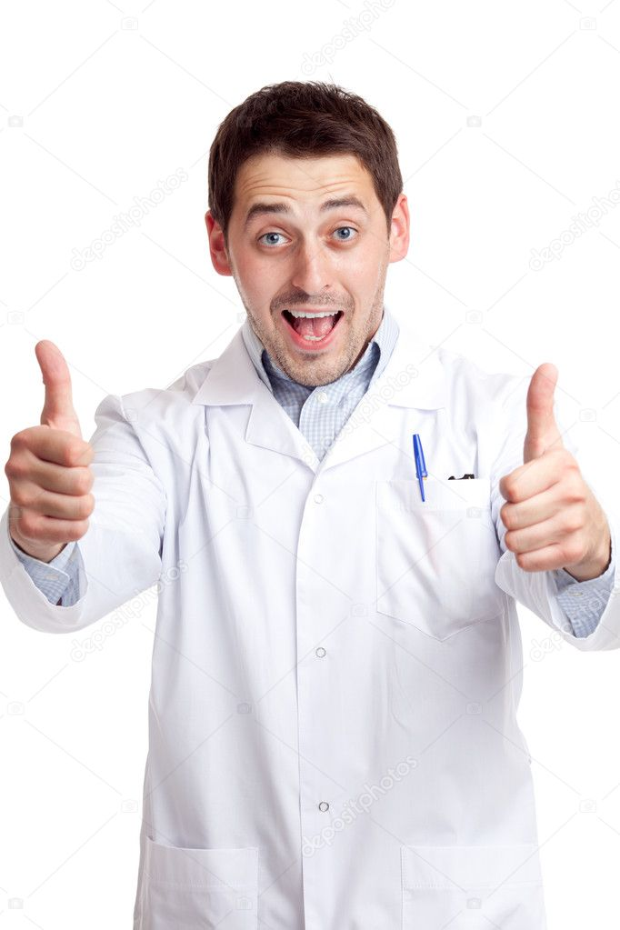 Male scientist  Stock Photo #6813923