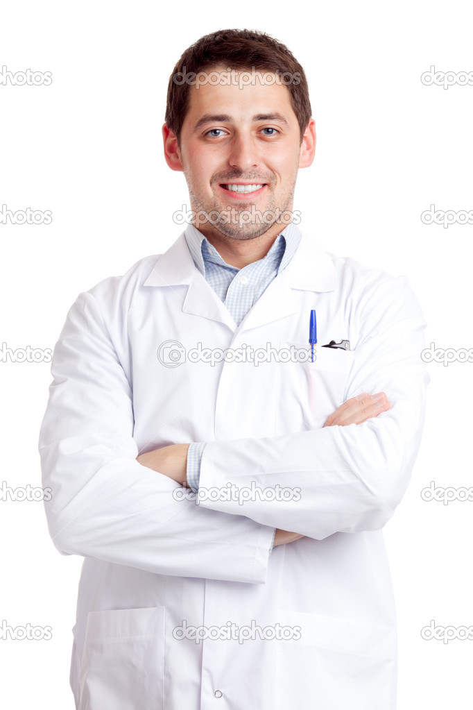 Male scientist  Stock Photo #6813925