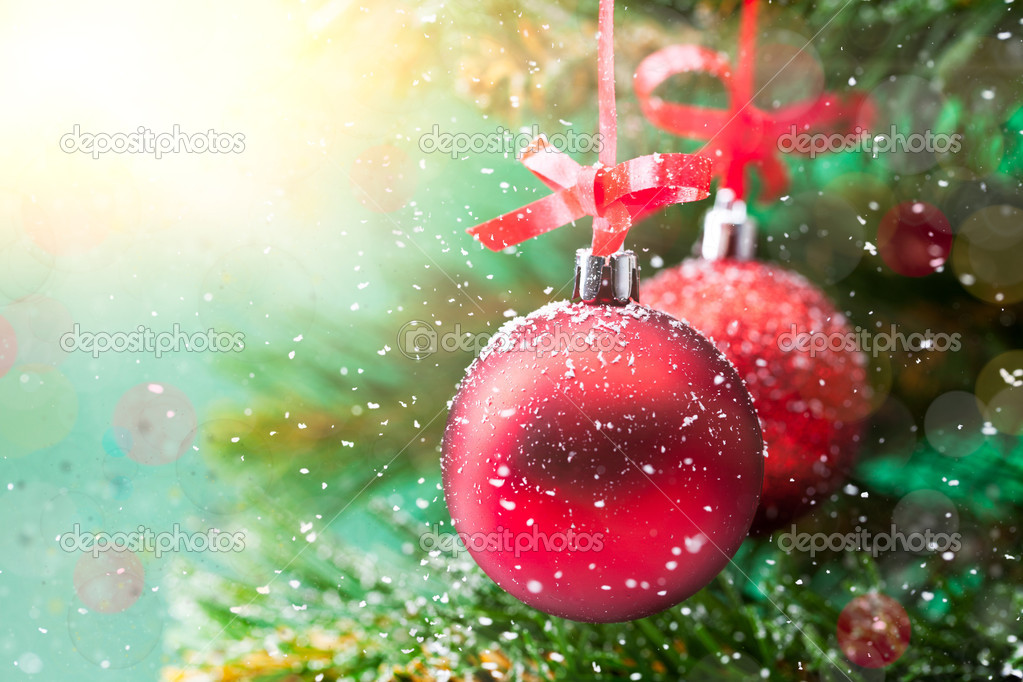 Christmas balls — Stock Photo #7411680