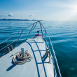 Boat in the sea — Stock Photo