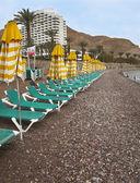 пустой пляж. — Стоковое фото