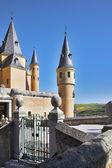 дворец испанских королей в сеговия — Стоковое фото