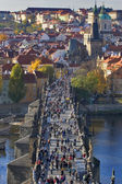 Karlov bridge. — Stockfoto