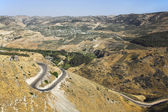 Mountains of Israel on border with Jordan — Stock Photo