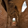 Antique temple nearby Ashkelon in Israel — Stock Photo