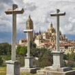 Stock Photo: Gothic cathedral in Segovia