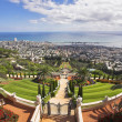 Haifa and Mediterranean sea — Stockfoto