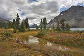 Lago del nord nel mese di settembre — Foto Stock