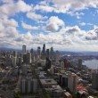 The magnificent American city of Seattle - Стоковая фотография
